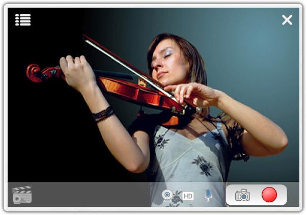 WebClapper Screenshot